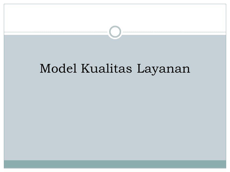 Model Kualitas Layanan