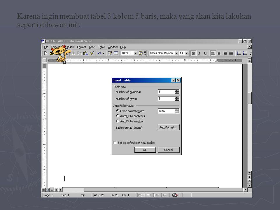 ► Mengedit Teks ► Pilih sel yang akan diperbaiki (edit), bila ingin memperbaiki satu karakter dari kanan ke kiri tekan tombol backspace (  ), bila ingin memperbaiki satu karakter dari kiri ke kanan tekan tombol Delete.