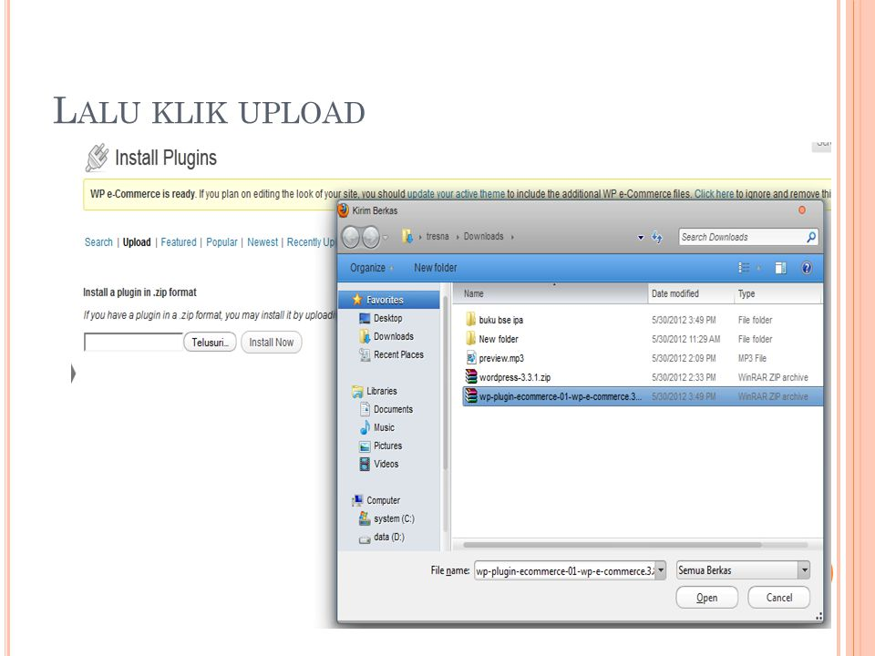 L ALU KLIK UPLOAD