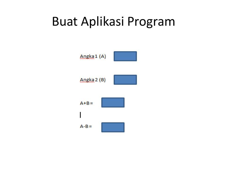 Buat Aplikasi Program