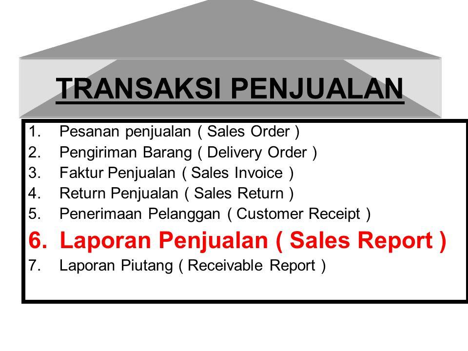 Laporan Penjualan Laporan Penjualan dapat dilihat dari beberapa kebutuhan mulai dari laporan penjualan secara detail,laporan penjualan berdasarkan Coustomer,berdasarkan tanggal,terdapat 29 versi untuk melihat laporan penjualan.
