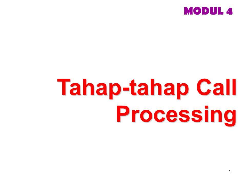 1 MODUL 4 Tahap-tahap Call Processing