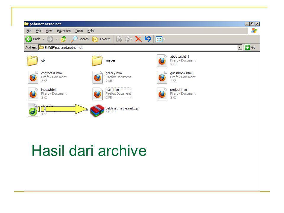 Langkah 3 Buka File Manager