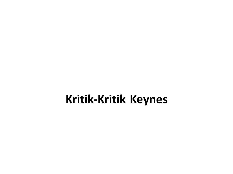 Kritik-Kritik Keynes