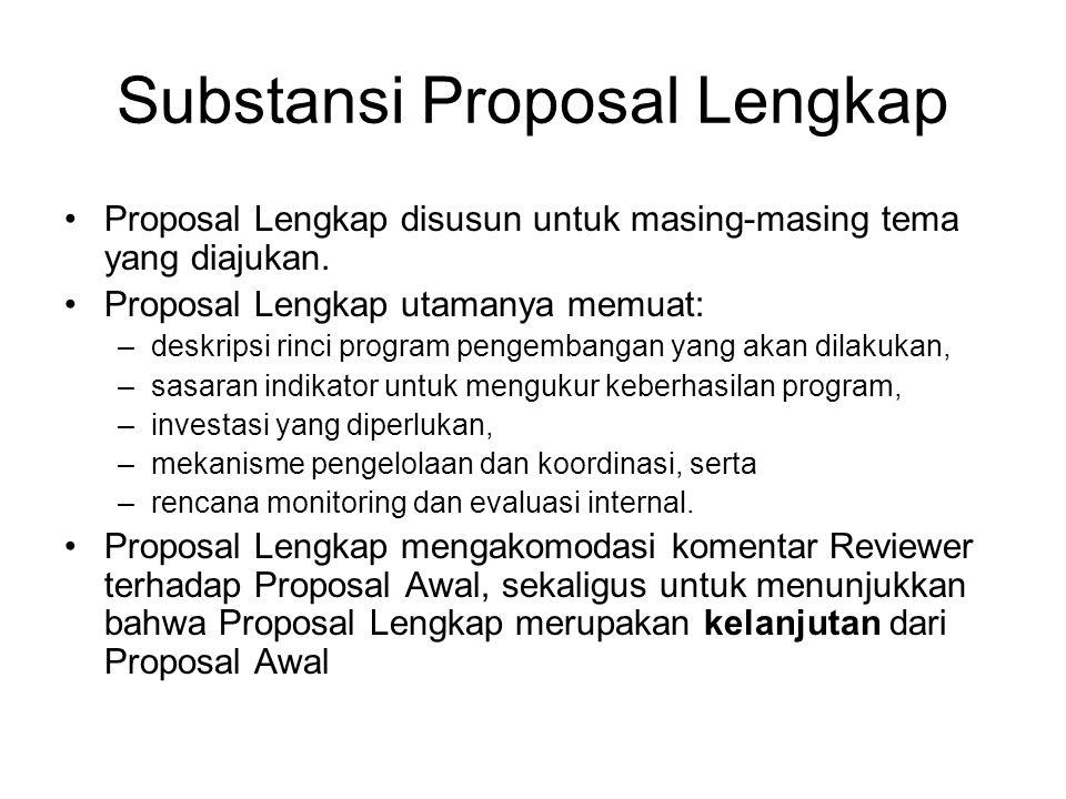 Dana Pendamping Kecuali untuk Program C, besarnya dana pendamping adalah 10% dari besarnya anggaran yang diajukan utk didanai dikti Untuk Program C: Dikti hanya membiayai maks 50% dari total biaya yang dibutuhkan