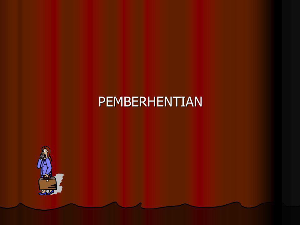 PEMBERHENTIAN