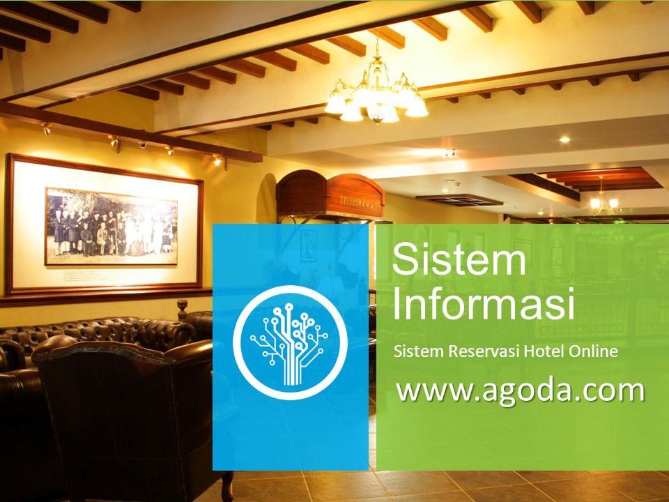 Sistem Informasi Sistem Reservasi Hotel Online www.agoda.com