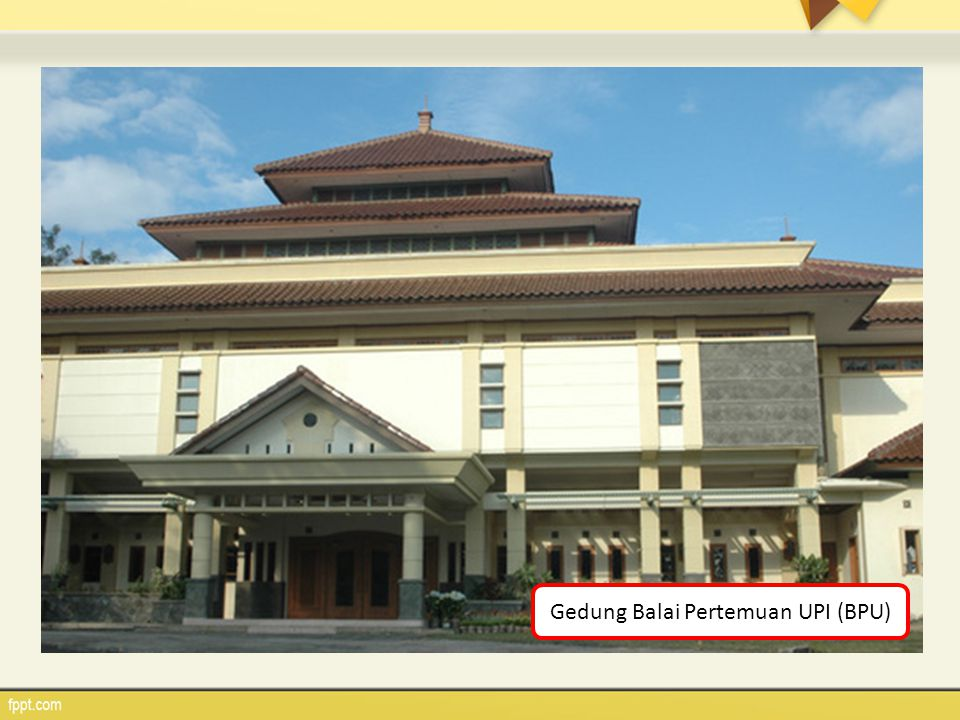 Gedung Balai Pertemuan UPI (BPU)