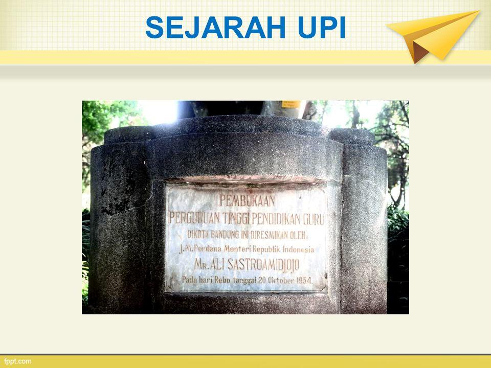 Bagian Belakang Gedung Rektor UPI