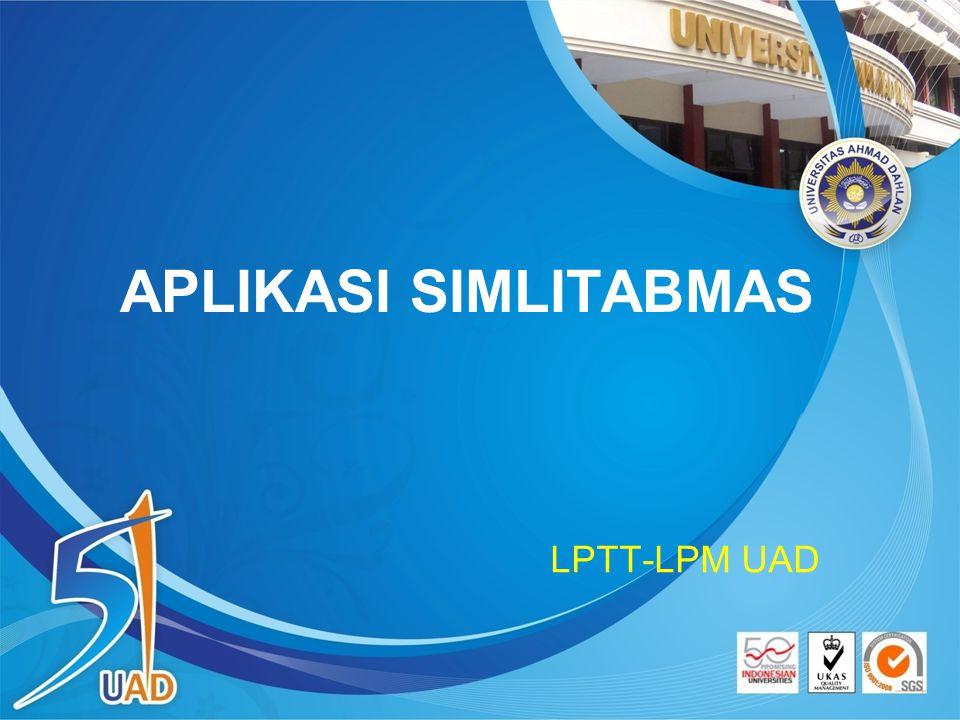 APLIKASI SIMLITABMAS LPTT-LPM UAD