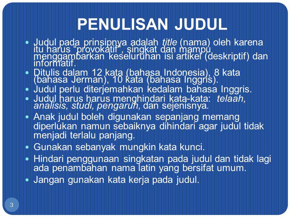 JIKA HASIL DAN PEMBAHASAN DIPISAH (Suminar S.
