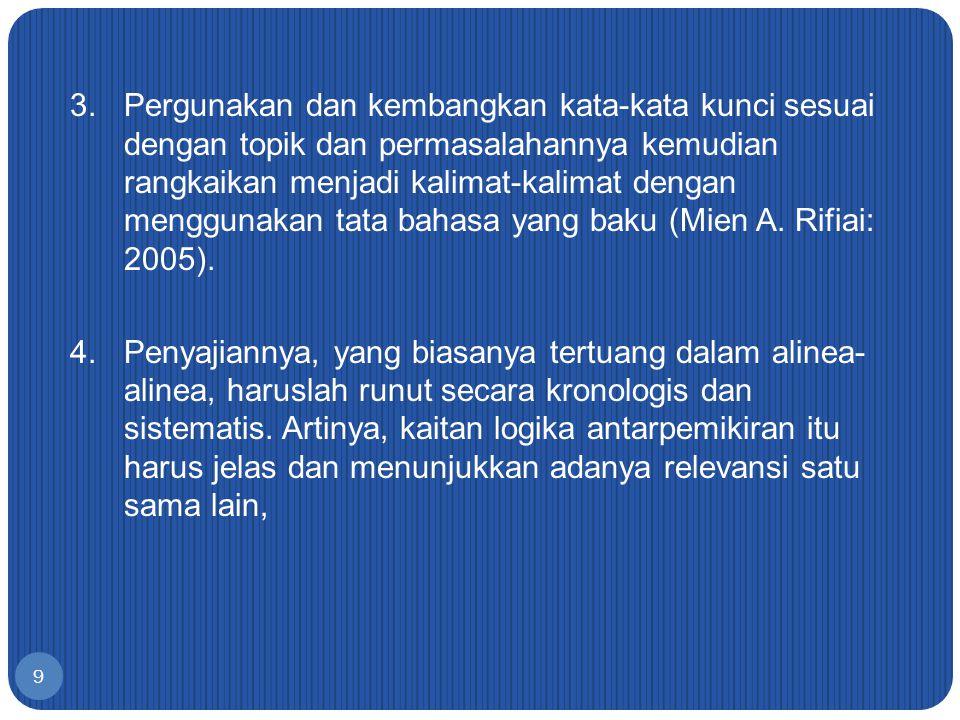 5.Kalimat-kalimat awal dalam Bab Pendahuluan seharusnya merupakan hasil pemikiran sendiri, bukan kutipan.