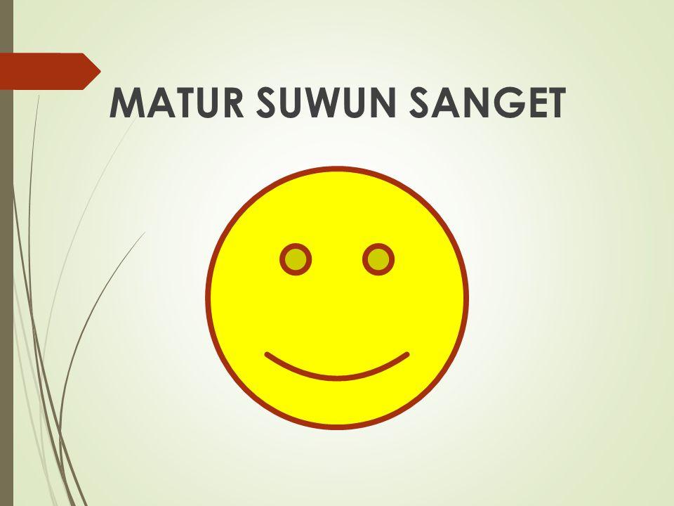 MATUR SUWUN SANGET