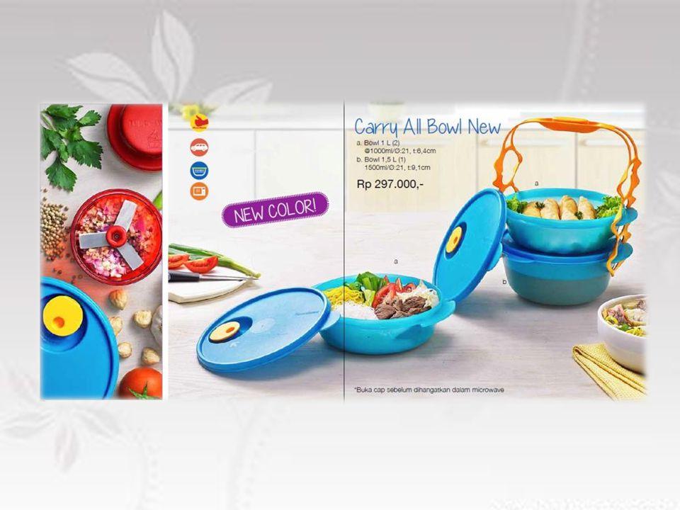 Produk yang tepat untuk membawa makanan berkuah Aman untuk menghangatkan makanan dalam microwave Terdiri dari 2 bowl ukuran 1L dan 1 bowl ukuran 1,5L Dilengkapi dengan carioler, sehingga memudahkan saat membawa 3 macam makanan sekaligus