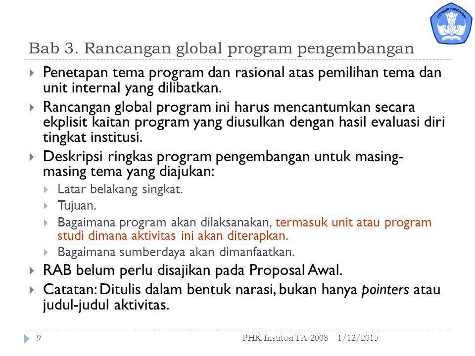 Format Proposal Awal 1/12/2015PHK Institusi TA-20088 1.