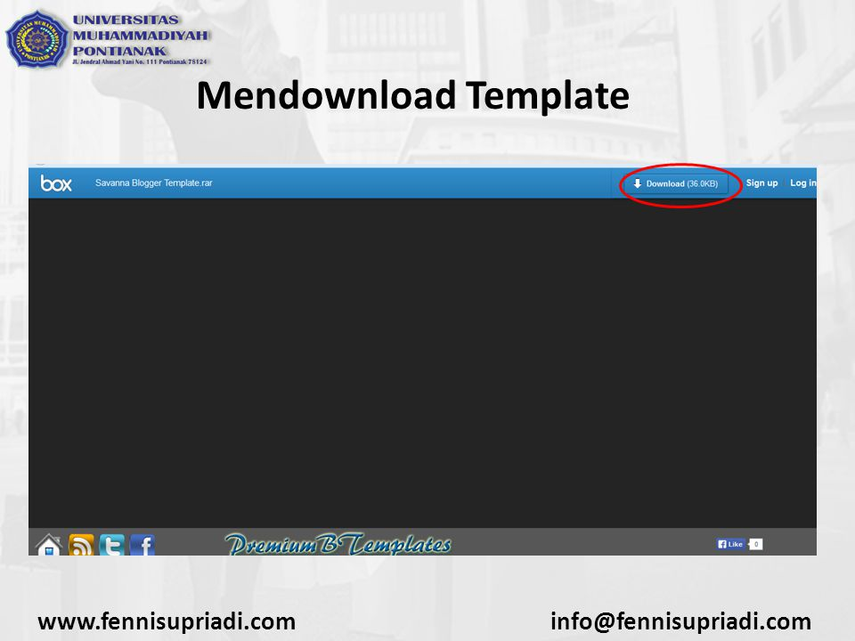www.fennisupriadi.cominfo@fennisupriadi.com Mendownload Template