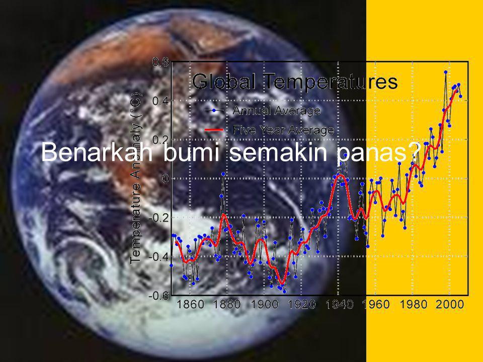 Benarkah bumi semakin panas?
