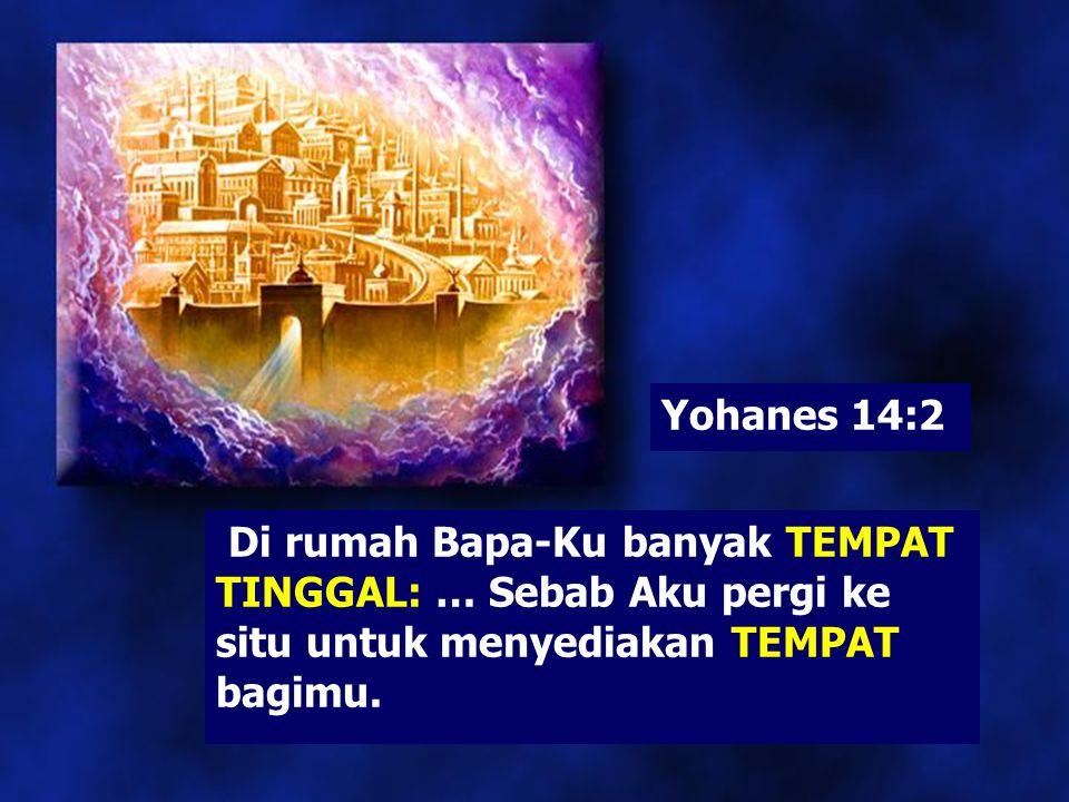 1. Apakah yang dijanjikan Yesus kepada umat-Nya?