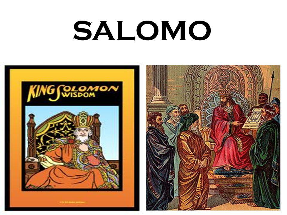 Raja Salomo, hal utama yang akan kita ingat dan dibahas adalah hikmatnya.