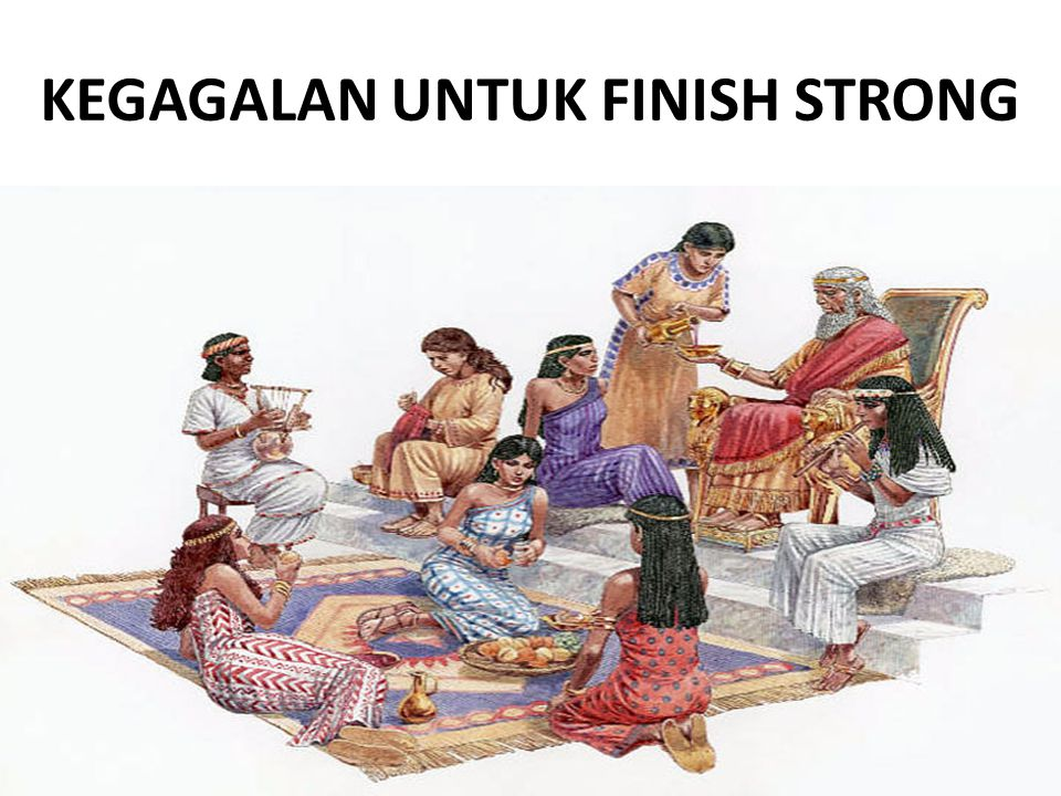 KEGAGALAN UNTUK FINISH STRONG