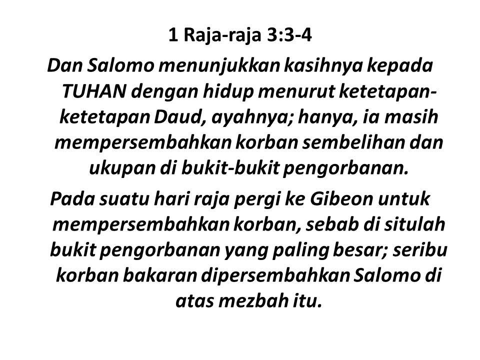 5.Seluruh dunia akan mendengar tentang saya berhubung dengan nama Tuhan.
