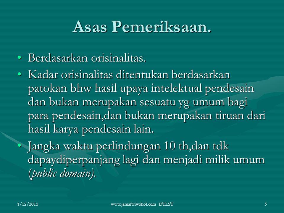 www.jamalwiwohol.com DTLST6 DASAR PERLINDUNGAN DTLST Investor asing utk menanamkan modalnya di Indonesia beserta tehnologi yg berkaitan dg DTLST.Investor asing utk menanamkan modalnya di Indonesia beserta tehnologi yg berkaitan dg DTLST.