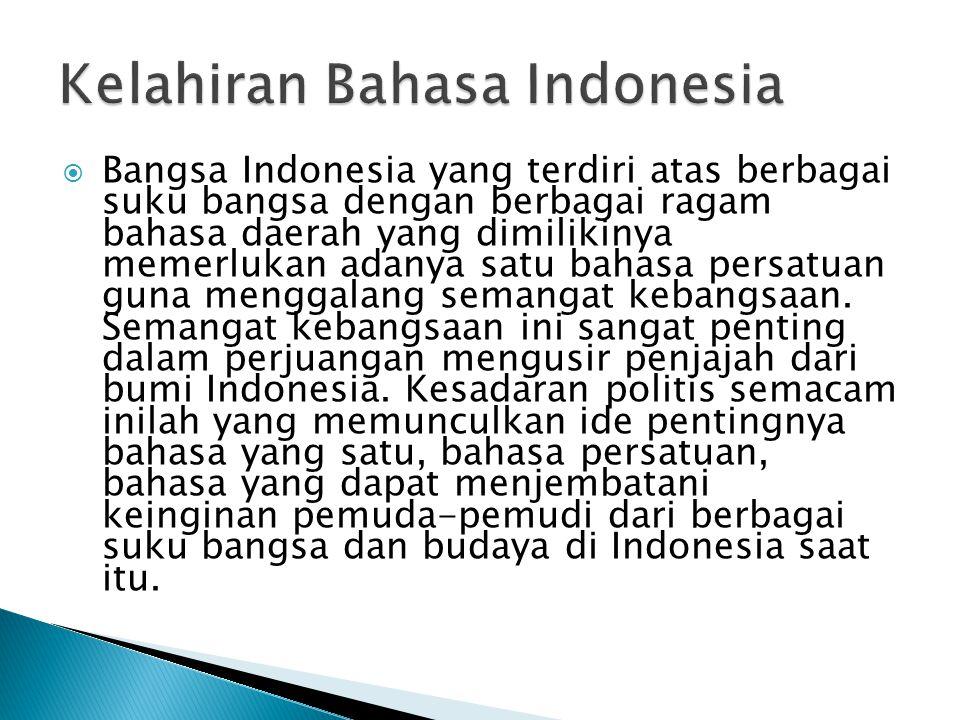  Pemuda-pemudi Indonesia pada masa pergerakan berhasil menyelenggarakan Kongres Pemuda Indonesia.