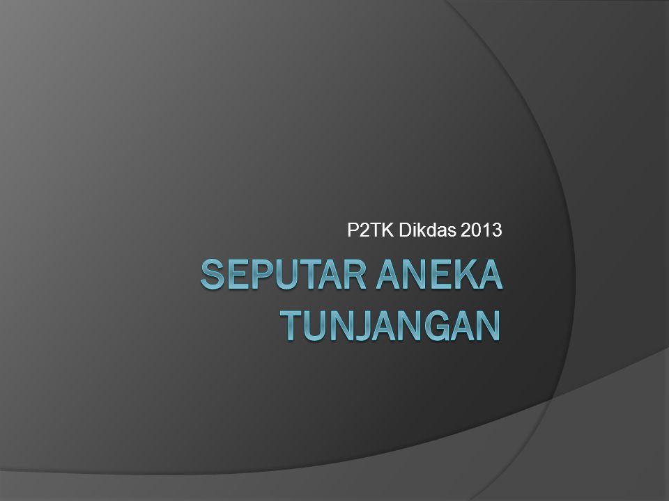 P2TK Dikdas 2013