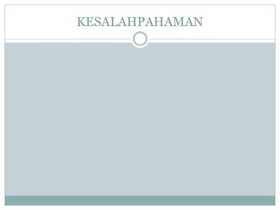 KESALAHPAHAMAN