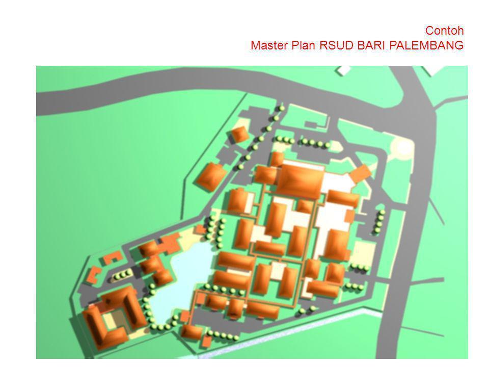 Contoh Master Plan RSUD BARI PALEMBANG