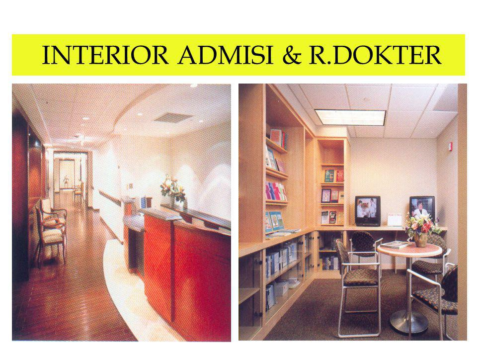 INTERIOR ADMISI & R.DOKTER
