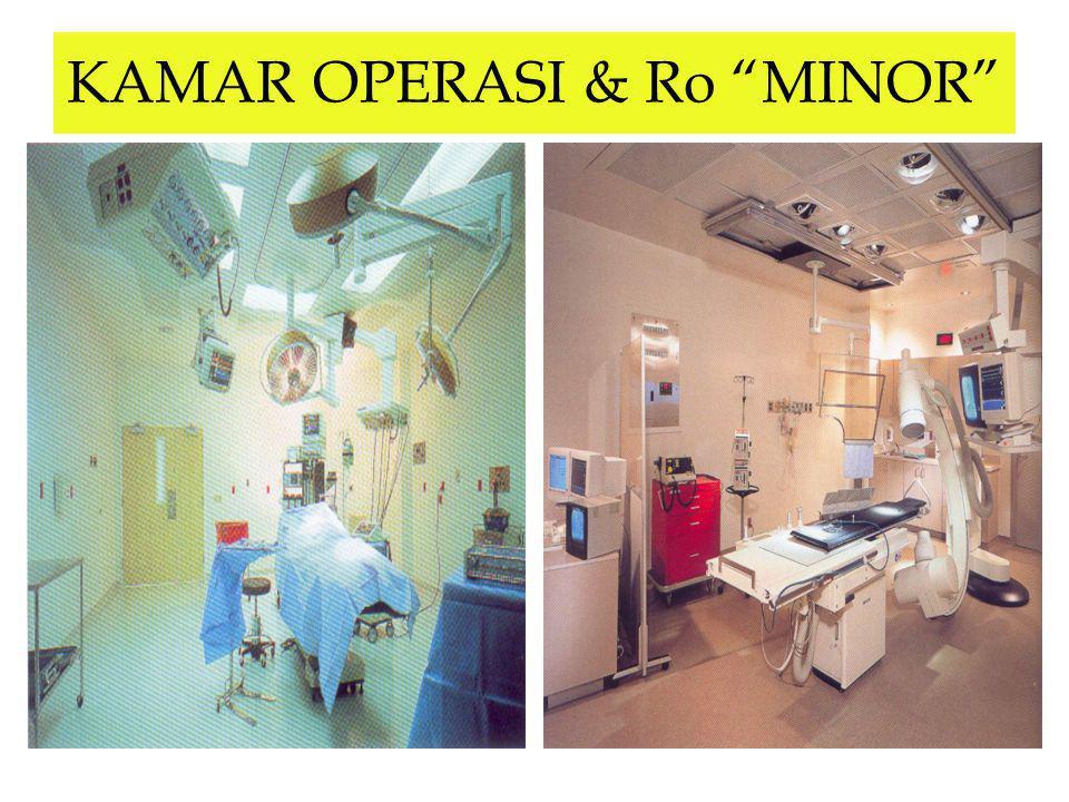 "KAMAR OPERASI & Ro ""MINOR"""