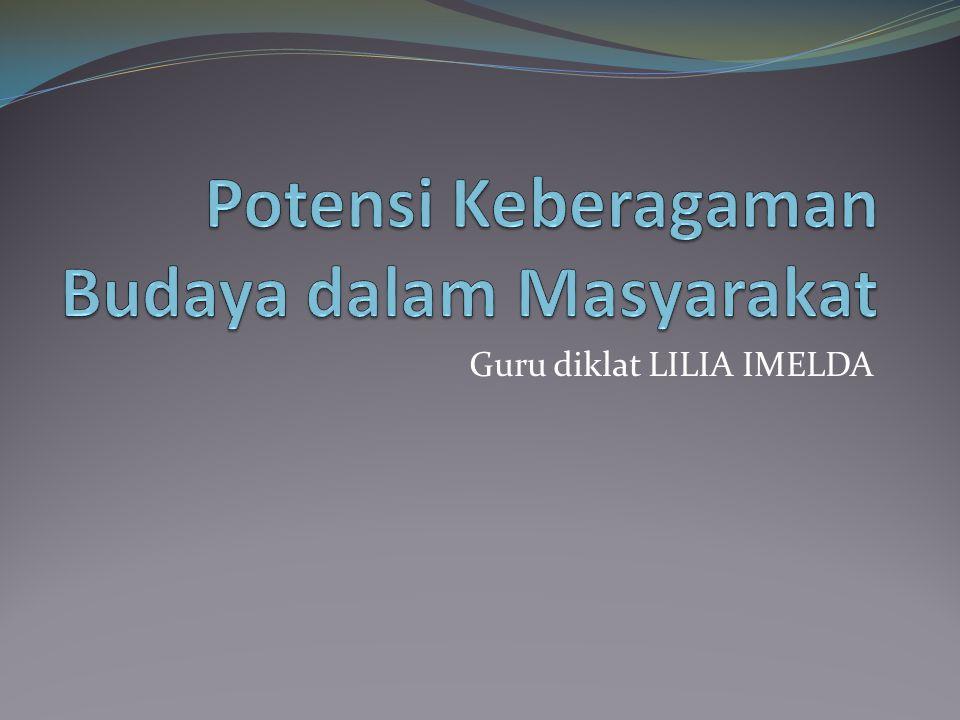 Guru diklat LILIA IMELDA