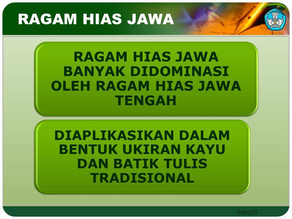 Adaptif RAGAM HIAS JAWA