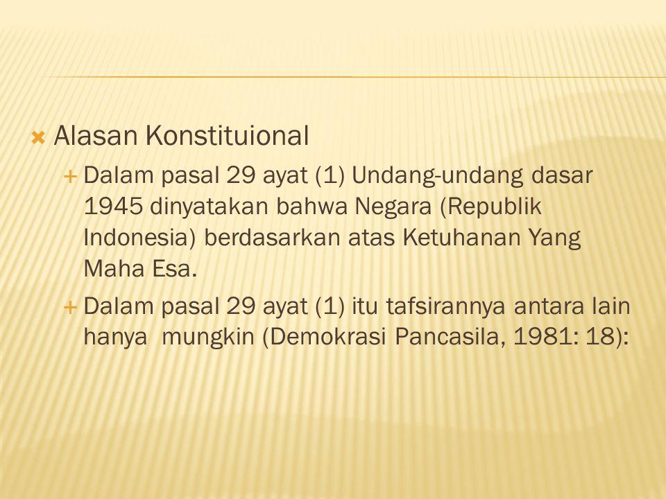  Ciri-ciri hukum Islam 1) Merupakan bagian dan bersumber dari agama Islam.