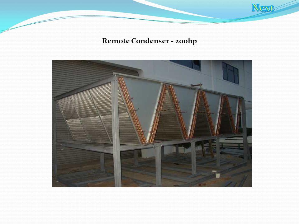 Remote Condenser - 200hp