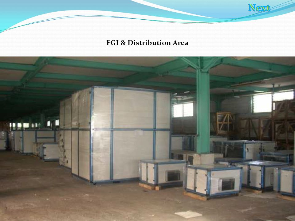 FGI & Distribution Area