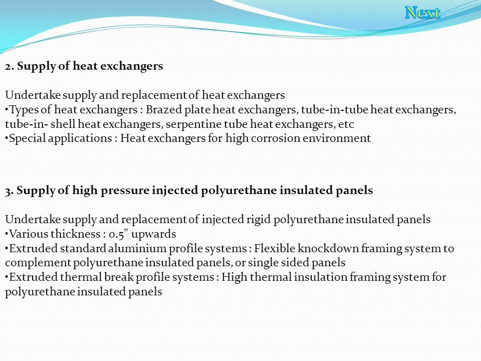 Sub Assy & Insulation Section