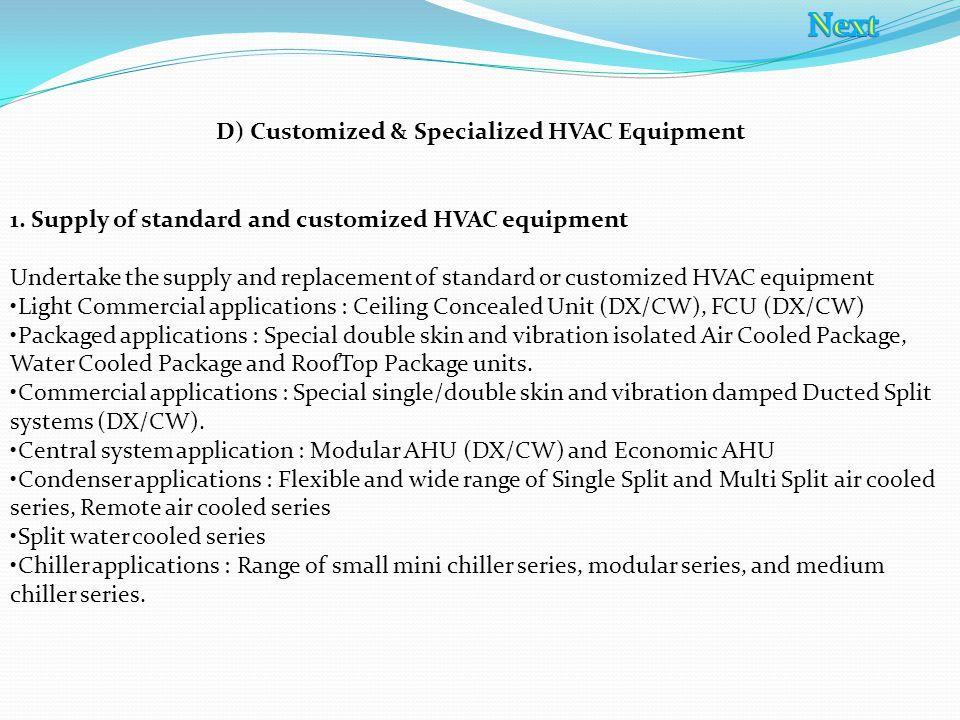 Single split condensers series II – 6 Hp