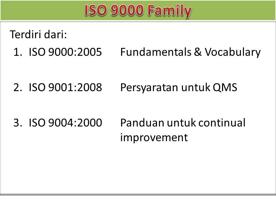 ISO 26000 - Social responsibility ISO 31000 - Risk management ISO 50001 - Energy management ISO 9000 - Quality management ISO 14000 - Environmental management Sector Standard or series of standards Automotive ISO/TS 16949:2009 Customer satisfaction ISO 10002:2004, ISO/TS 10004:2010 Education IWA 2:2007 Energy ISO 50001, TC 242 Food safety ISO 22000:2005 Information security ISO/IEC 27001:2005 Health care IWA 1:2005 Local government IWA 4:2009 Medical devices ISO 13485:2003 Petroleum and gas ISO/TS 29001:2007 Risk ISO 31000:2009 Ship recycling ISO 30000:2009 Supply chain security ISO 28000:2007