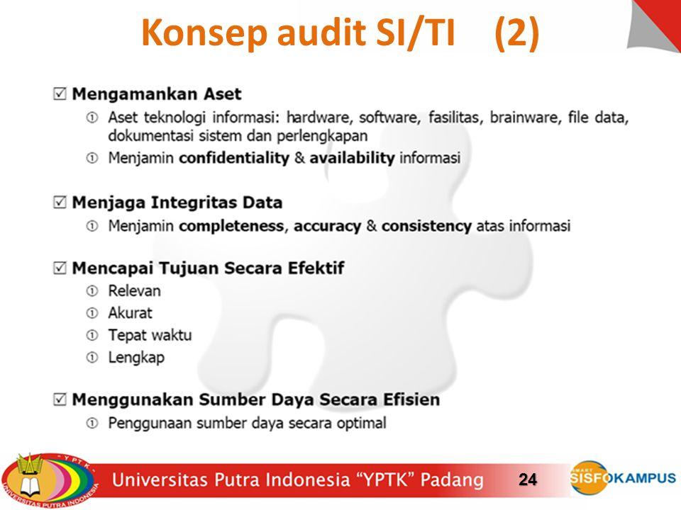 Konsep audit SI/TI (2)24