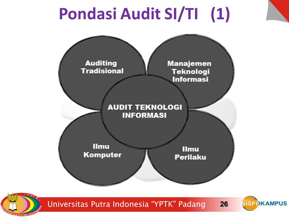 Pondasi Audit SI/TI (1)26