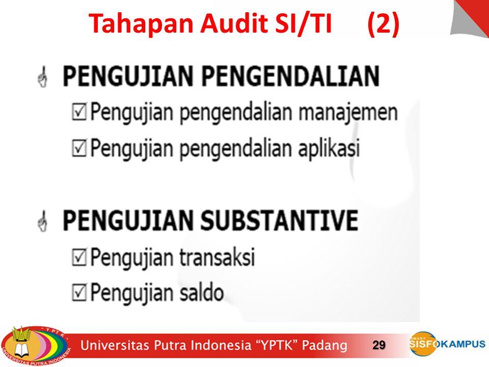 Tahapan Audit SI/TI (2)29