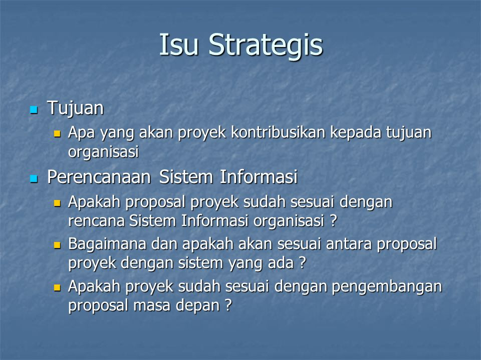 Isu Strategis Struktur Organisasi Struktur Organisasi Manajemen Sistem Informasi (SI) Manajemen Sistem Informasi (SI) Personal Personal Image Image
