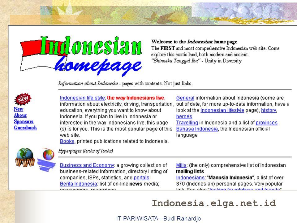 IT-PARIWISATA – Budi Rahardjo Indonesia.elga.net.id