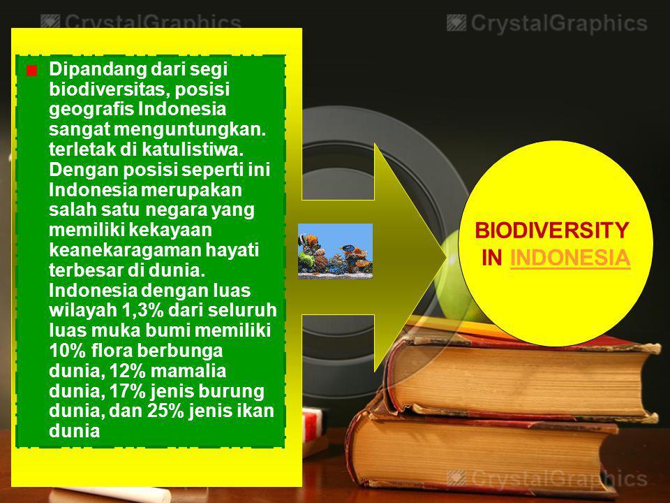 BIODIVERSITAS INDONESIA Biodiversitas Indonesia meliputi :  Golongan Hewan  Golongan Tumbuhan