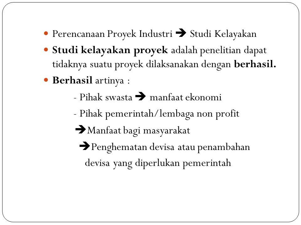 Dampak  ekonomis dan sosial Analisa Manfaat dan Pengorbanan atau disebut Cost and Benefit Analysis Tiga Aspek Studi Kelayakan 1.