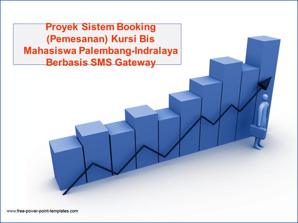 Proyek Sistem Booking (Pemesanan) Kursi Bis Mahasiswa Palembang-Indralaya Berbasis SMS Gateway