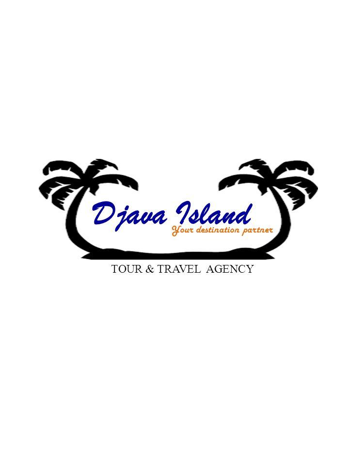 D ava Island Your destination partner Vision Menjadi leader tour & travel agency Mision Berdedikasi tinggi terhadap dunia pariwisata nasional dan internasional dengan menyediakan pelayanan yang memuaskan bagi seluruh pelanggan Contact Us Alamat : Jl.