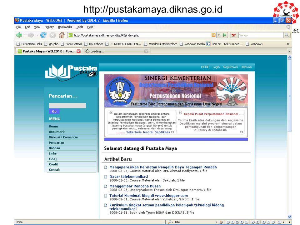 http://pustakamaya.diknas.go.id